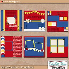 Magical Templates 1 by Polka Dot Chicks