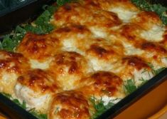 CHICKEN BALLS WITH OVEN CREAM SAUCE- If you want to make chicken, chicken balls with creamy sauce and chicken balls illustrated chicken recipe. We are again with a foreign Chicken Recipe from the chicken dishes. From chicken breast meat… Meat Loaf Recipe Easy, Meat Recipes, Chicken Recipes, Cooking Recipes, Recipe Chicken, Cooking Time, Chicken Balls, Oven Chicken, Hungarian Recipes