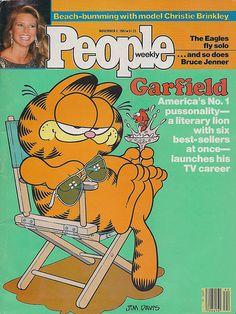 Garfield People Magazine, 1982