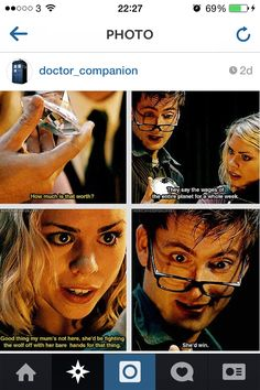 Doctor who- the wolf episode! The werewolf is so CREEPY! - Doctor who- the wolf episode! The werewolf is so CREEPY! Fandoms, Serie Doctor, 10th Doctor, Twelfth Doctor, Don't Blink, Rose Tyler, Torchwood, David Tennant, Dr Who