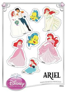 Stickers de princesas de Disney