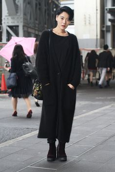 Street Style, Spring Summer 2016, Tokyo Fashion Week, Japan – 16 Oct 2015
