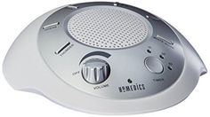 HoMedics SS-2000G/F-AMZ Sound Spa Relaxation Machine with 6 Nature Sounds, Silver   Six digitally recorded, calming sounds: White Noise, Thunder, Ocean, Rain, Summer Night and Brook  15, 30 and 60 minute auto off timer  Battery or adapter operated (adapter included)  Natural sleep aid  Great for the baby's room | eBay!