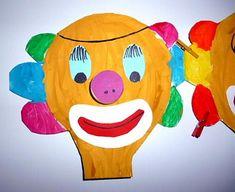 Malvorlage Narrenkappe Karneval Fasching Clown Zirkus