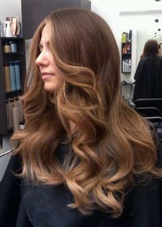 Golden Honey Tone Ombre