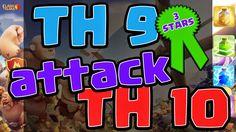 Clash of Clans TH 9 Attack TH 10 3 Stars Clan War   Y Channel : https://www.youtube.com/channel/UC2SiB2IYhPOqAZZIeB4BNmQ