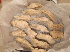 Ravioli cinesi al vapore salmone e polpa di granchio Kenwood