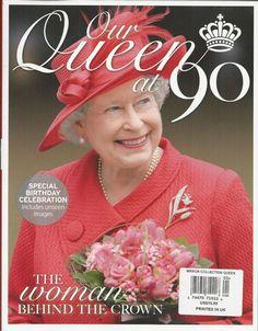 Queen Elizabeth magazine 90 birthday Special collectors edition Rare photos