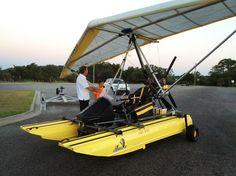 Here he goes... #poweredhandgliding #flying #LOVEHIM http://ift.tt/1NlLhvg