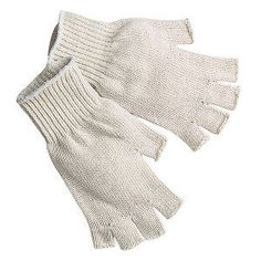 eBay  // $13  //  12-Pair-  //  Memphis-9509SM-Small-Fingerless-String-Knit-Cotton-Polyester-Gloves