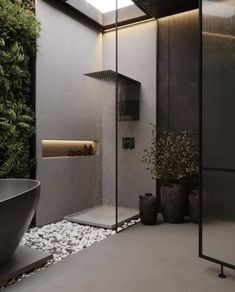 Bathroom Design Luxury, Modern Bathroom Design, Modern Toilet Design, Modern Home Design, Modern Luxury Bathroom, Washroom Design, Luxury Bathrooms, Contemporary Bathrooms, Dream Home Design