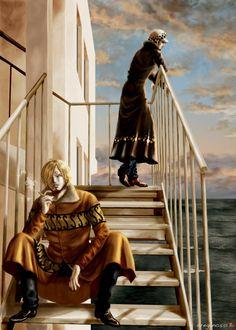 One Piece, Law, Sanji