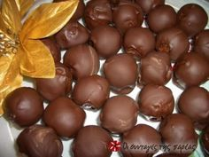 Meatless truffles with tangerine recipes from the company!