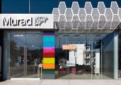 Murad Flagship in Los Angeles - B+N Industries custom technology driven retail interiors