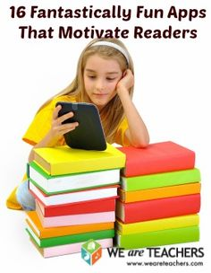 16 Apps that motivate kids to read! Apps for early readers, Elementary readers, and Middle and High School readers! Teaching Technology, Teaching Tools, Educational Technology, Technology Integration, Teaching Ideas, We Are Teachers, Ms Gs, Kids Learning, Mobile Learning