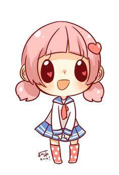 kawaii anime chibi amor - Buscar con Google                                                                                                                                                      Más
