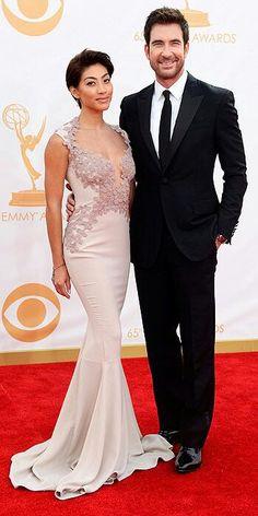 Dylan McDermott & his gorgeous wife I presume.