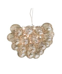 Features: Material: glass and metal Accommodates: 8 x bulb (included) Designed in Sweden Fixture Design: Cluster Number of Lights: 8 Style: Mo Pendant Lighting Bedroom, Kitchen Chandelier, Pendant Chandelier, Hand Blown Glass, Pendants, Led, Lights, Elegant, Metal