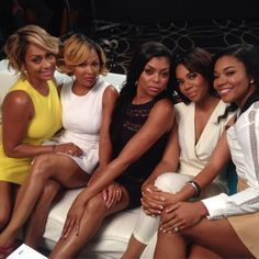 Lala Anthony, Meagan Good, Taraji P Henson, Regina Hall and Gabrielle Union My Black Is Beautiful, Black Love, Beautiful People, Beautiful Women, Black Girls Rock, Black Girl Magic, Black Actresses, Actors & Actresses, Regina Hall