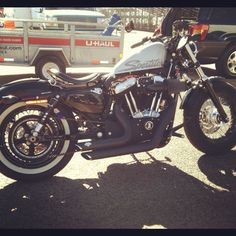 Awesome Harley-Davidson Sportster that came out to race in the MMI / UTI Drag Races at Firebird International Raceway.    www.MMITech.edu