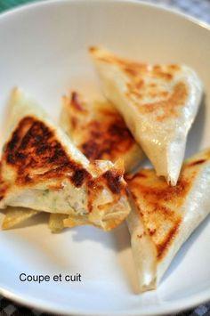 Bricks au thon et à la ricotta Tapas, Healthy Cooking, Cooking Recipes, Healthy Snacks, Good Food, Yummy Food, Ramadan Recipes, Iftar, Chorizo
