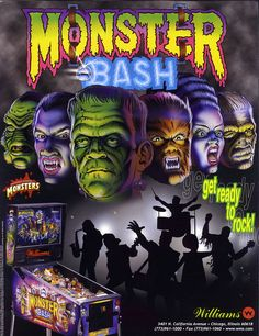 'Monster Bash' is the latest digital pin available from Pinball Arcade. This update pack includes Gorgar, the first talking pin.