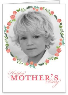 One of the sweetest Mother's Day photo cards, at Shutterfly.