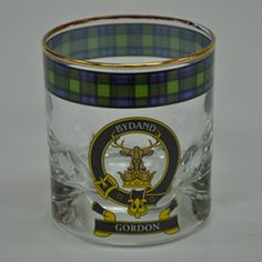 #LGLimitlessDesign & #Contest Dinwiddie or Maxwell please. Clan Crest Whiskey Glasses | MacLeods Scottish Shop