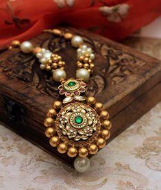 #manubhaijewellers#gold#necklace