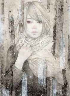 Kai Fine Art is an art website, shows painting and illustration works all over the world. Japanese Art Modern, Name Art, Japanese Embroidery, Japanese Painting, Japan Art, Types Of Art, Portrait Art, Graphic Illustration, Illustrations