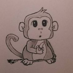 This page contains daily drawings of all shapes and sizes, including cute little hedgehogs, and an AT-ST walker from Star Wars. Monkey Drawing, Monkey Art, Cute Monkey, Bullet Journal Inspiration, Journal Ideas, Monkey Tattoos, Daily Drawing, Water Colors, Buttercup