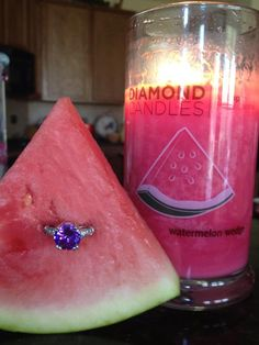 The new Diamond Candles summer scents are absolutely delectable!