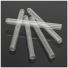 5 Pcs 100 mm Pyrex Glass Blowing Tubes 4 Inch Long Thick Wall Test Tube SALE@@@@