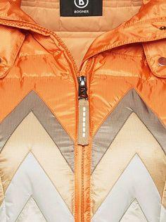DOWN SKI JACKET NARA in Orange for Unisex  48ed9788f