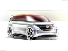 Volkswagen Budd-e Concept 2016