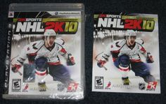 PS3 NHL 2K10 CASE and MANUAL ONLY Playstation 3 for sale at www.yardsalebargains.ecrater.com