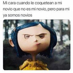 Miraculous y coraline ♡♡ Funny Spanish Memes, Spanish Humor, Funny Memes, Lady Bug, Miraculous Ladybug Memes, New Memes, Coraline, Tom Holland, Hip Hop