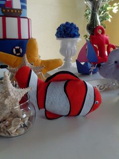 bonecos fundo do mar