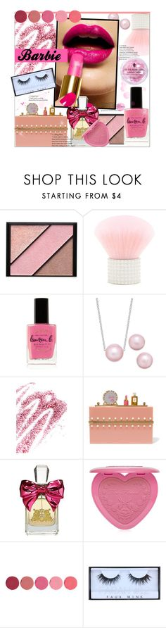 """""""Halloween Beauty: Barbie"""" by bitty-junkkitty ❤ liked on Polyvore featuring beauty, Elizabeth Arden, Forever 21, Lauren B. Beauty, Obsessive Compulsive Cosmetics, Charlotte Olympia, Juicy Couture, Too Faced Cosmetics, Kjaer Weis and Huda Beauty"""