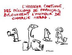 «Charlie» traits pour traits - Libération - Olivier Tallec