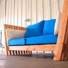 Watch the Process of Making Beautiful woodworking Sofa - Diy Möbel Diy Furniture Videos, Diy Furniture Table, Diy Furniture Plans, Luxury Furniture, Outdoor Sofa, Diy Sofa, Furniture For Small Spaces, Modern Sofa, Diy Design