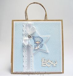 New Baby gift bag / Don and Daisy stamp