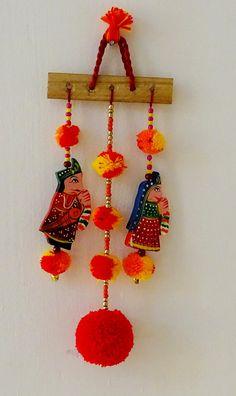 Wall hanging, door hangings, Indian traditional Raja Rani wall hanging, home Decor