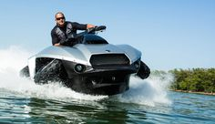new gibbs quadski amphibious vehicle for reservoir and oxbow fishing   New Quadski: Will It Fish?
