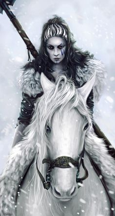 "Étaín: A figure of Irish mythology, best known as the heroine of Tochmarc Étaíne (English: The Wooing Of Étaín), one of the oldest & richest stories of the Mythological Cycle. She is sometimes known by the epithet Echraide, (""horse rider""), suggesting links with horse deities and figures such as the Welsh Rhiannon & the Gaulish Epona. #myth"