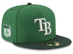 Tampa Bay Rays New Era 2017 MLB On-Field St. Patrick's Day 59FIFTY Cap