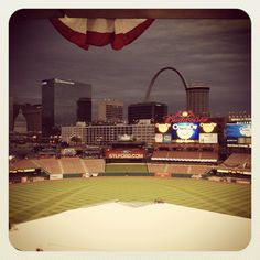It's Opening Day at Busch Stadium!