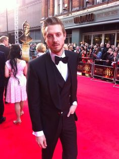 Arthur Darvill at Olivier Awards 2014