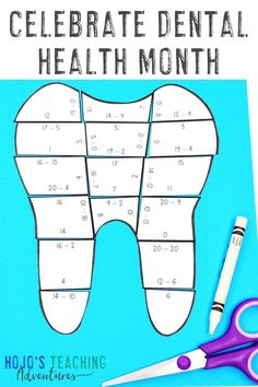 We all know our teeth are important. Celebrate Dental Health Month or any science unit with these great TEETH ideas, activities, books, and games. Click through to find math puzzles, picture and chapter #books, a FREE download, and more for 1st, 2nd, 3rd, 4th, 5th, 6th, 7th, or 8th grade kids. #DentalHealthMonth #OralHealth #Elementary #MiddleSchool 4th Grade Classroom, Middle School Classroom, 1st Grade Math, Dental Health Month, Reading Recovery, Health Unit, Ell Students, Basic Math, Special Education Teacher