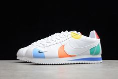 2021 New AH7528-005 Nike Wmns Classic Cortez White/Varsity Red Nike Classic Cortez, Red